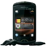 Sony Ericsson Live Walkman WT19a Unlocked GSM Android Cell Smartphone - Black
