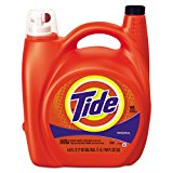 Tide 23064 Ultra Liquid Laundry Detergent, Original, 150 oz Pump Dispenser (Case of 4)