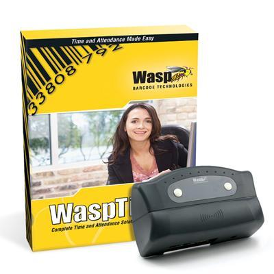Wasp 633808550028 Time Standard Rfid Solution - Box Pack - 1 Administrator  50 Employees - Cd - Win - With 50 Rfid Badges / Rfid Employee Time Clock / 2 Etherne