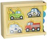 Melissa & Doug Vehicles Mini-Puzzle Pack