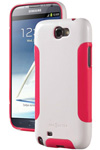 Dba Cases Galaxy Note Ii Comp Ultra Case - White/pink Complete Ultra C