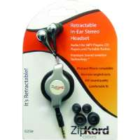 ZipKord High Quality Retractable In-Ear