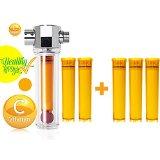 UBS VFS-F VCF-03 Luxury Vita-Fresh Shower Filter with 5 Vitamin C Cartridge