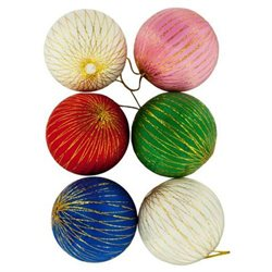 Colorful Christmas Ornament Balls (Available in a pack of 24)