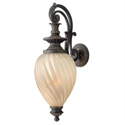 Hinkley Montreal Aged Iron Outdoor Wall Sconce