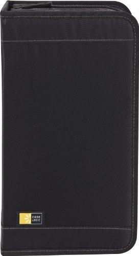 Case Logic CDW-92 Nylon CD/DVD Wallet 100-Capacity (Black)