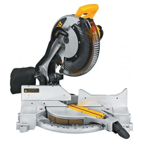 New DEWALT DW715 12 Single Bevel Compound Miter Saw