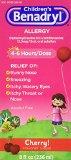Benadryl Child Cherry Allergy Syrup, 8 Fluid Ounce