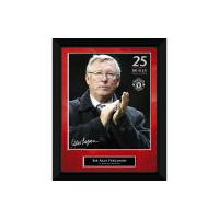 """Manchester United Sir Alex 25 Years - 8"""""""" x 6"""""""" Framed Photographic"""