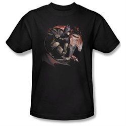 Mens ARKHAM CITY Short Sleeve BLOOD MOON XXLarge T-Shirt Tee