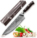 ZELITE INFINITY Chefs Knife 8 inch - Best Quality Japanese VG10 Super Steel 67 Layer High Carbon Stainless Steel-Razor Sharp, Superb Edge Retention, Stain & Corrosion Resistant! Full Tang Ideal Gift