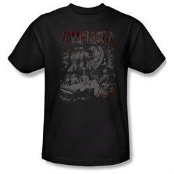 Mens VAMPIRELLA Short Sleeve HOME SWEET HOMES Medium T-Shirt Tee