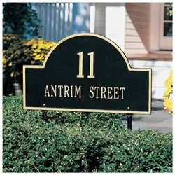 Arched House Marker