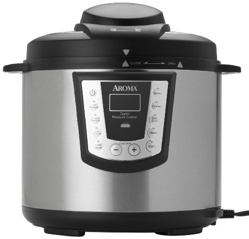 Aroma APC-990 6-Quart Digital Electric Pressure Cooker