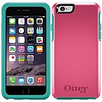 Otterbox Symmetry Series Case For Iphone 6 - Iphone - Teal Rose - Polycarbonate, Synthetic Rubber 77-50228