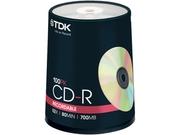 Tdk 700mb 52x Cd-r 100 Packs Disc Model 48555