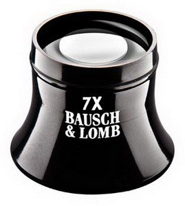Bausch & Lomb Inspection Loupe 7X Magnification - 1.5