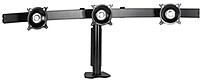 Chief KTC325B is an easy desk clamp solution for graphic designers, broadcasters and other users who commonly work with multiple small flat panel TVs or monitors.
