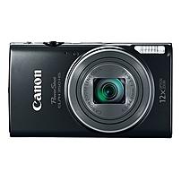 "Canon Powershot 350 Hs 20.2 Megapixel Compact Camera - Black - 3"" Lcd - 16:9 - 12x Optical Zoom - 4x - Optical (is) - Ttl - 5184 X 3888 Image - 1920 X 1080 Video - Pictbridge - Hd Movie Mode - Wireless Lan 0154c001"