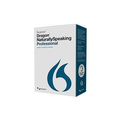 Nuance Communications A209f-x00-13.0 Dragon Naturallyspeaking Professional - ( V. 13 ) - Box Pack - 1 User - Var - Dvd - Win - French