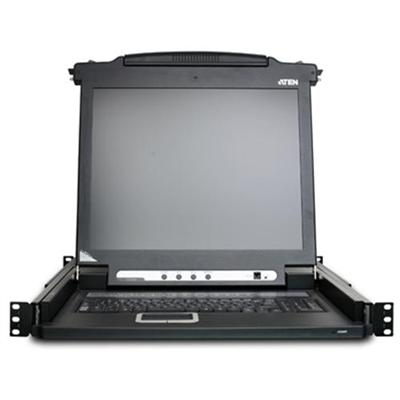 Aten Technology Cl1008m Cl1008m - Kvm Console - 17 - Rack-mountable - 1280 X 1024 - 250 Cd/m² - Vga - 1u