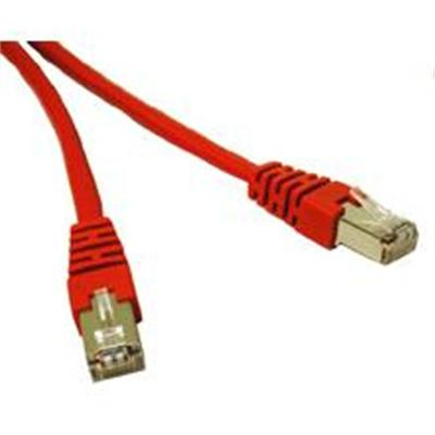 Cat6 550 MHz Molded Shielded Patch Cable - patch cable - 7 ft