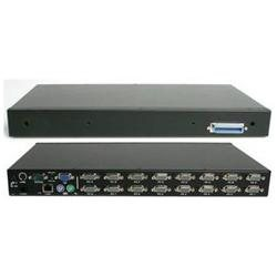 StarTech1U Rackmount Power Switch 8 Outlet 15 Amp RS232 Serial Control PDU