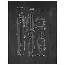 Railway Car Patent Art Print