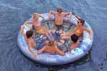 Rave Sports 02328 Aviva Social Circle Pool And Lake Float