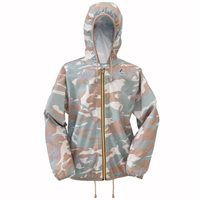 Claudette Jacket-- Sabbia Camo  By K-way