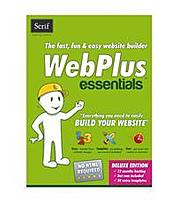 Serif 703115685147 WebPlus Essentials puts building a fun or sophisticated website within everyone's reach