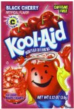 Kool-Aid Black Cherry Unsweetened Soft Drink Mix, 0.13-Ounce Packets (Pack of 96)