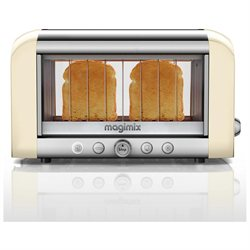 Magimix by Robot-Coupe Colored Vision Toaster: Ivory