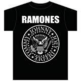 Bravado Men's Ramones Presidential Seal T-Shirt- Medium