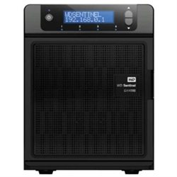 Western Digital WDBLGT0120KBK-KIT 12TB Sentinel DX4000 NAS USB3.0