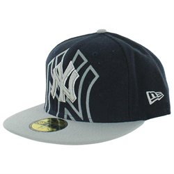 New Era New York Yankees Men's MLB Flock Fitted Hat 59Fifty