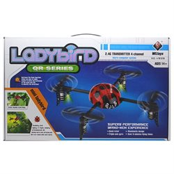 WLToys V939 Beetle Mini 4 Channel 6 RC Quadcopter 2.4Ghz - Red