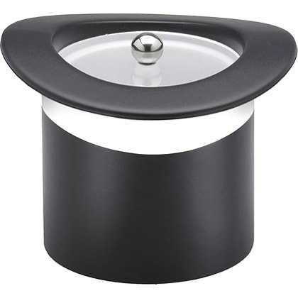 Kraftware Sophisticates Table Ware - 3 quart Ice Bucket, Lid