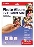 Canon Create-Your-Own Photo Album Pocket Sized, 3 x 3 Inches, 2 Kits (0041B009)
