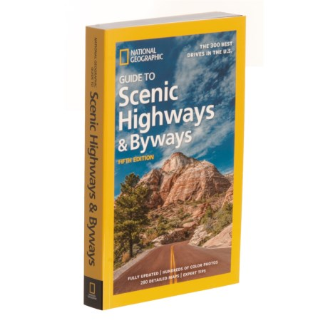Guide To Scenic Highways And Byways - 5th Edition, Paperback Book