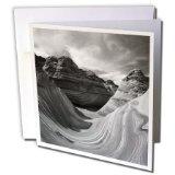 Danita Delimont - Arizona - The Wave, Coyote Buttes, Paria Canyon, Arizona, USA - US03 AJE0051 - Adam Jones - 12 Greeting Cards with envelopes (gc_142236_2)
