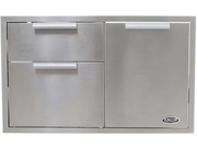 Dcs  Adr136  70968 36-inch Built-in Stainless Steel Storage Drawer