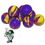 10 Purple and Yellow Non Stick Silicone BHO Oil Wax Ball   Snow White Hard Enamel Pin