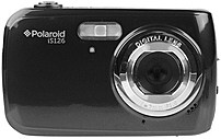 Polaroid Is126-blk 16.0 Megapixel Digital Camera - 4x Digital - 1.8-inch Lcd Display - Usb - Black