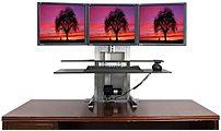 Ergotech 700-ult-123-bun One Touch Ultra 1-2-3 Sit-stand Workstation Bundle