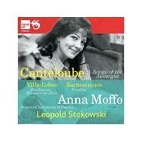 Canteloube: Songs of the Auvergne; Villa-Lobos: Bachianas Brasileiras No. 5; Rachmaninov: Vocalise (Music CD)