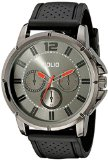 Folio Men's FMDMSG056 Analog Display Quartz Black Watch