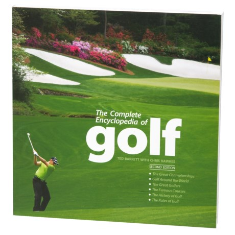 The Complete Encyclopedia Of Golf, Paperback Book