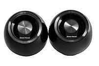 Gear Head Sp2000ublk Usb 2.0 Powered 8-ball Speaker System - 3 Watts Rms - Black