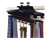 Rotating Tie Rack - By Richards Homewares